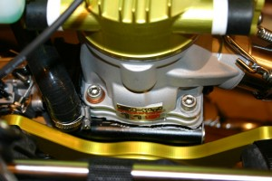 front of engine